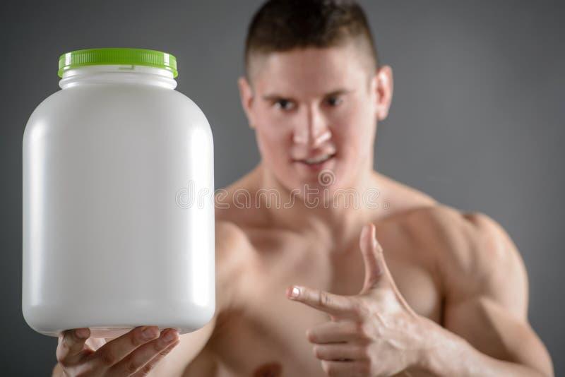 Uitstekend Voedsel voor Bodybuilder royalty-vrije stock afbeeldingen