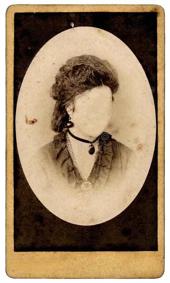 Uitstekend vrouwenportret stock foto