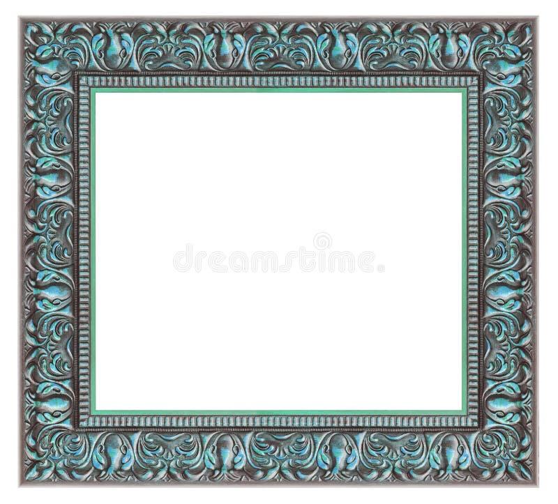 Uitstekend zilveren frame stock afbeeldingen
