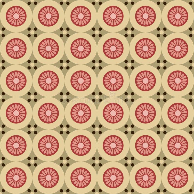 Uitstekende achtergrond in sjofele elegante stijl als abstract patroon stock illustratie