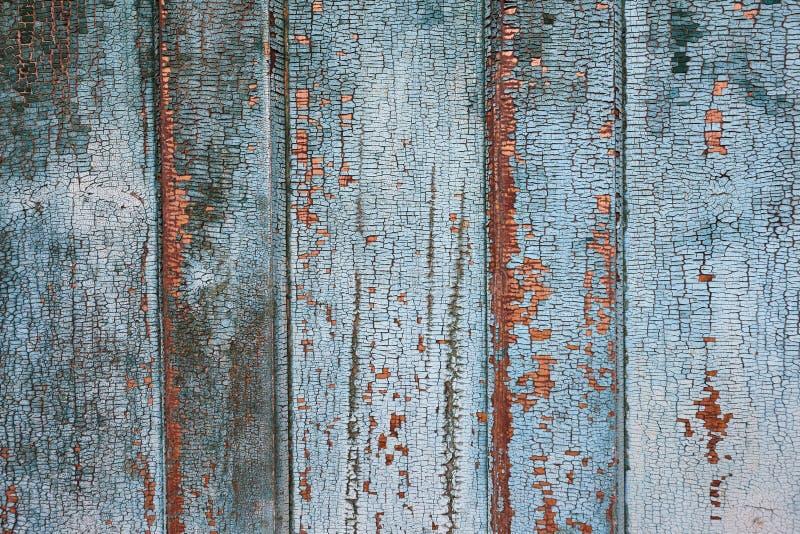 Uitstekende achtergrond van oude houten deur stock foto