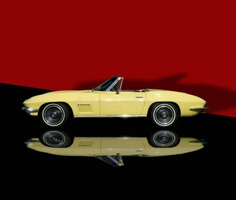 Uitstekende auto royalty-vrije stock foto's