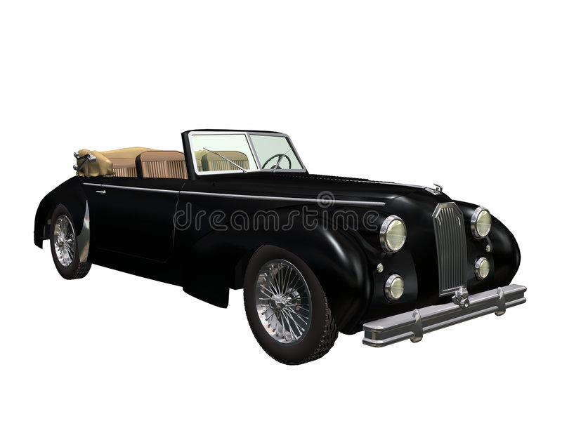 Uitstekende auto stock illustratie