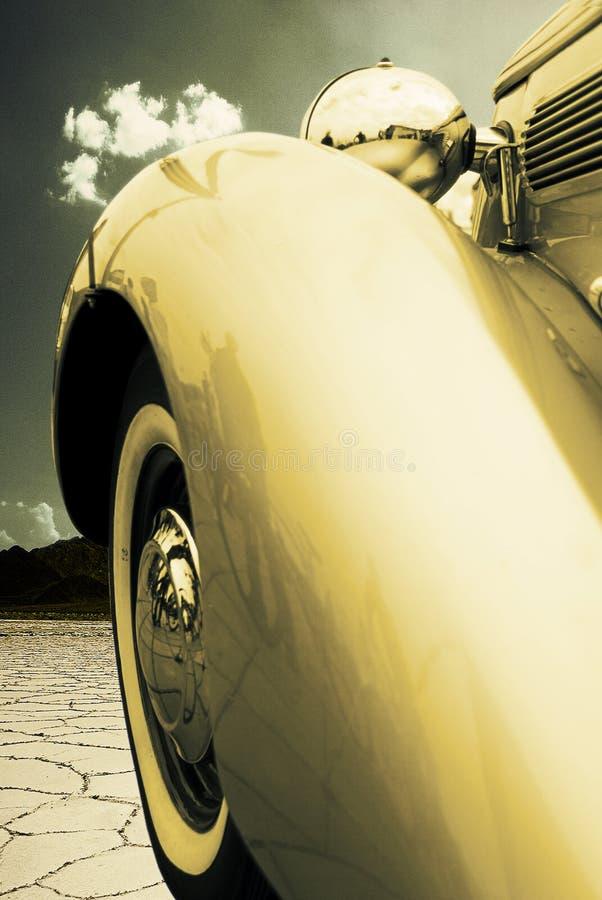Uitstekende auto bumpe stock fotografie