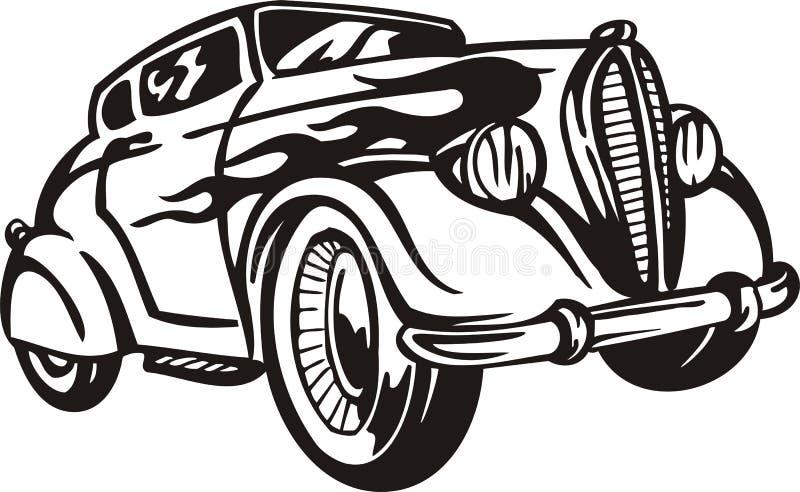 Uitstekende Auto's. stock illustratie