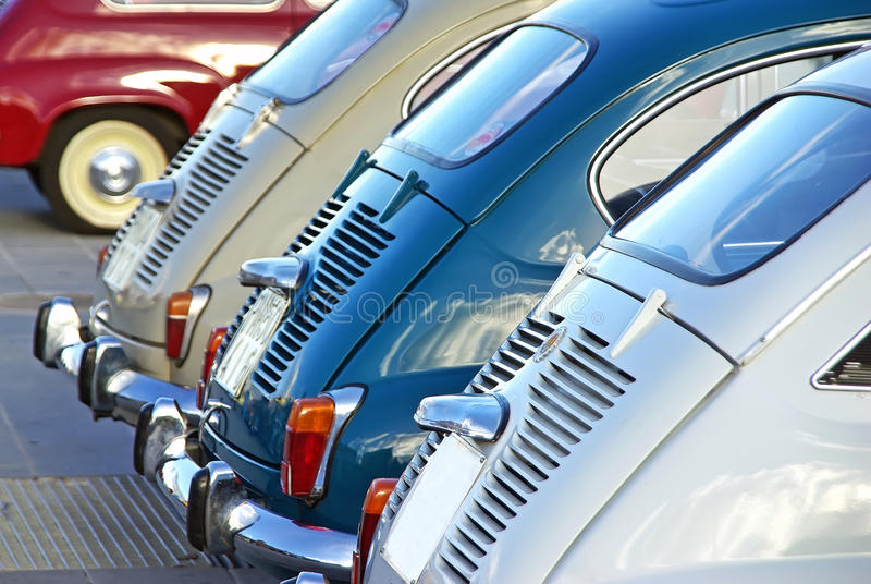 Uitstekende auto's stock fotografie