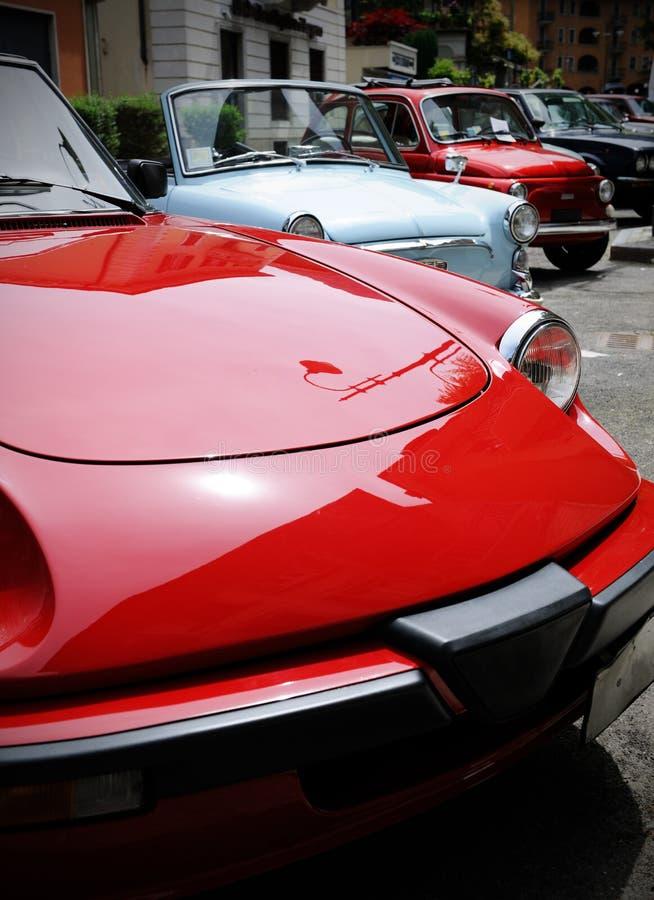 Uitstekende auto's royalty-vrije stock afbeeldingen