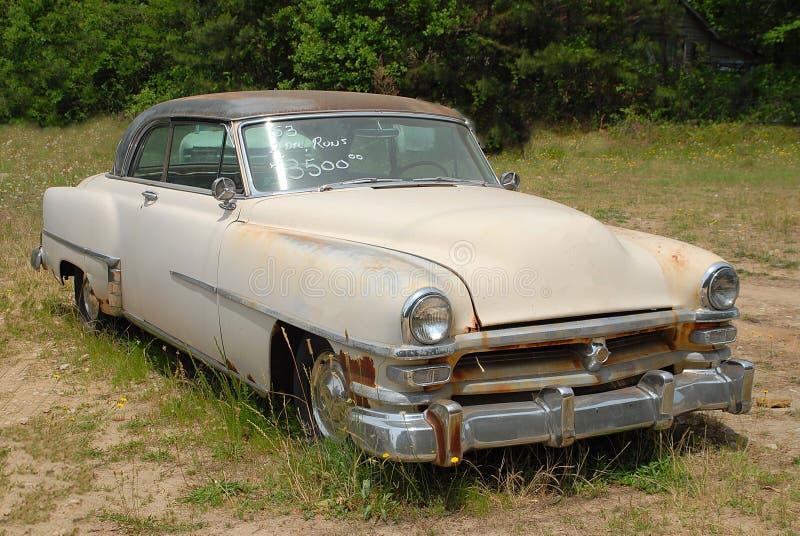 Uitstekende Auto voor Verkoop royalty-vrije stock afbeelding