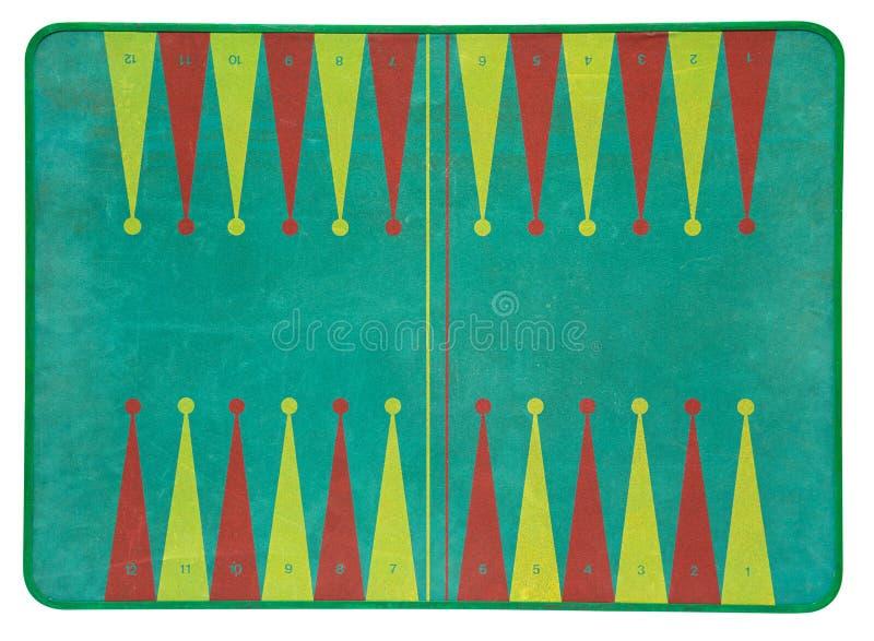 Uitstekende backgammonraad stock foto's
