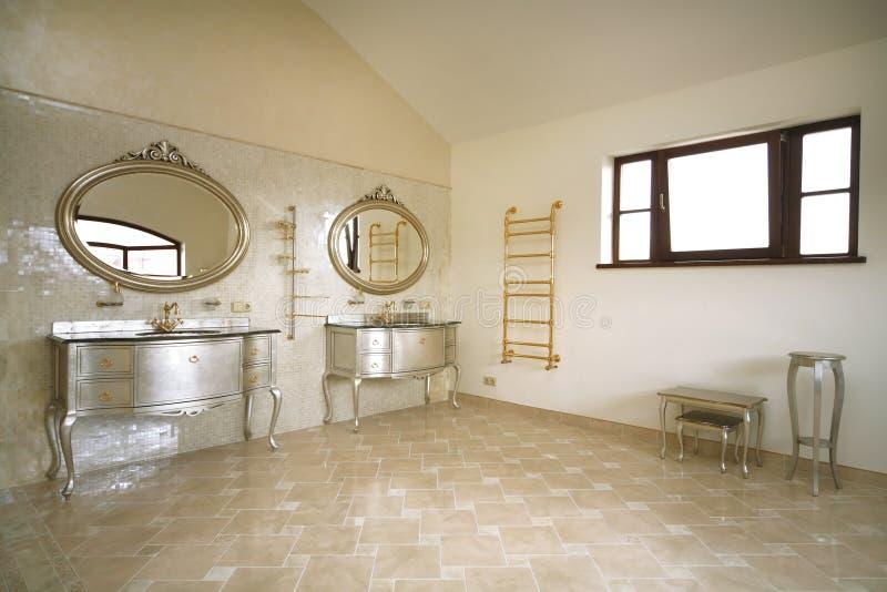 Uitstekende badkamers stock foto