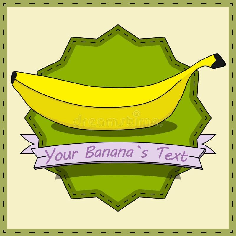 Uitstekende Banaan stock fotografie