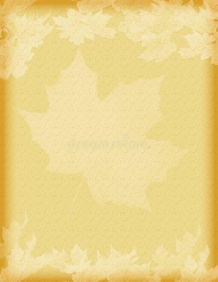 Uitstekende bladeren royalty-vrije stock foto's