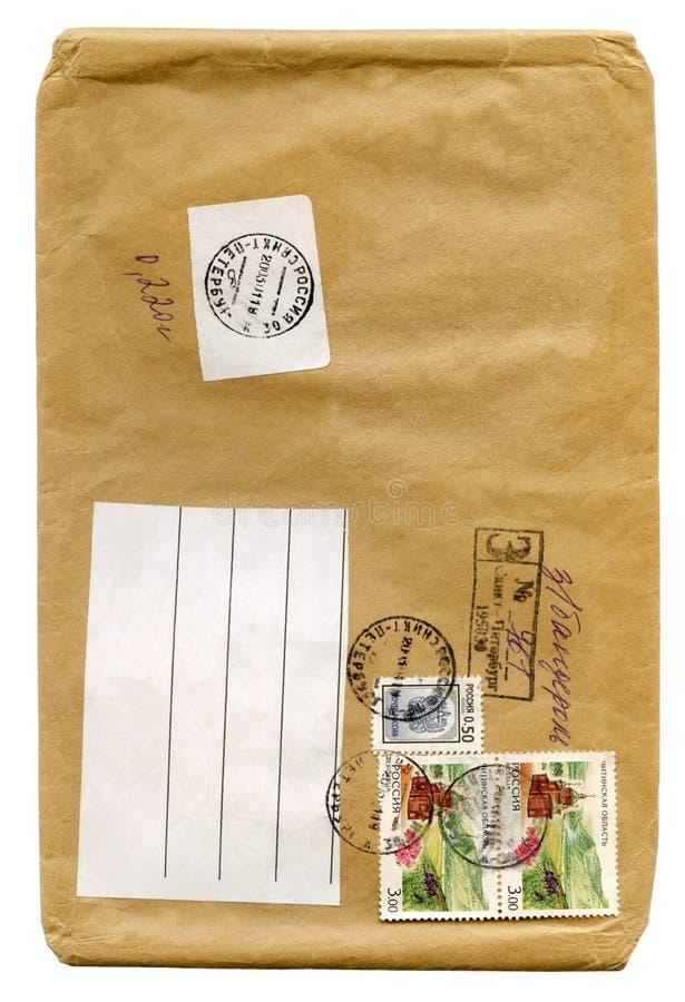 Uitstekende brief stock fotografie