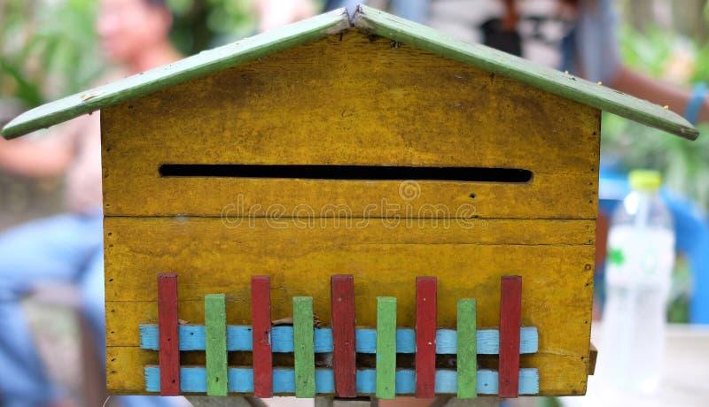Uitstekende brievenbus royalty-vrije stock afbeeldingen