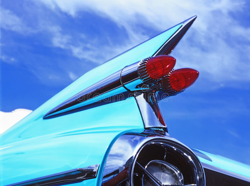 Uitstekende Cadillac stock fotografie