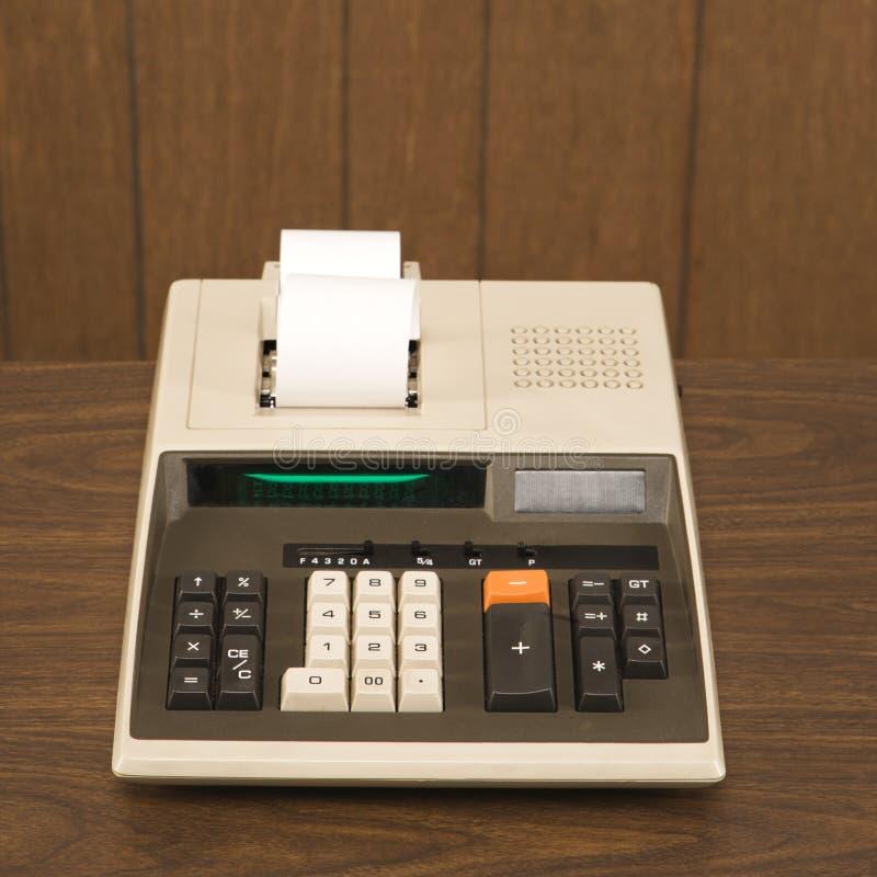Uitstekende calculator stock foto's