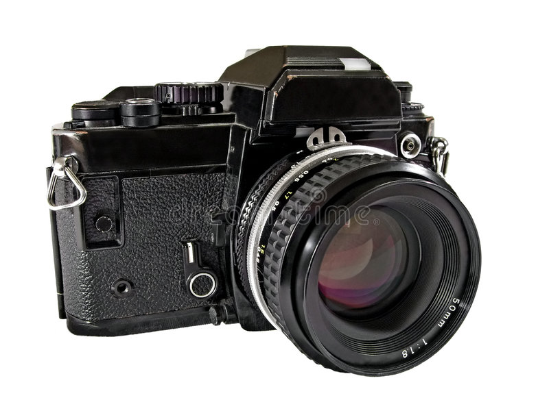 Uitstekende Camera SLR stock fotografie