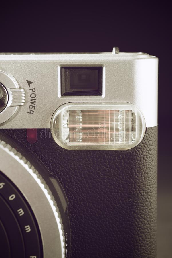 Uitstekende cameramening stock afbeelding