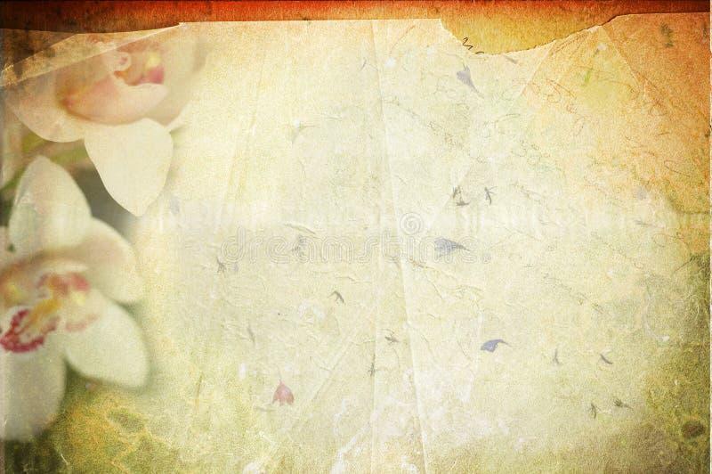Uitstekende canvasachtergrond royalty-vrije stock fotografie