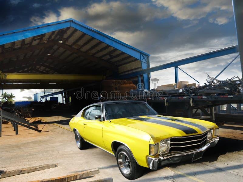 Uitstekende coupé stock foto
