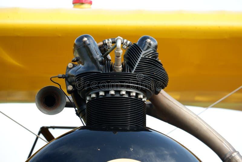 Uitstekende de Carburatordelen van de Vliegtuigmotor stock foto's