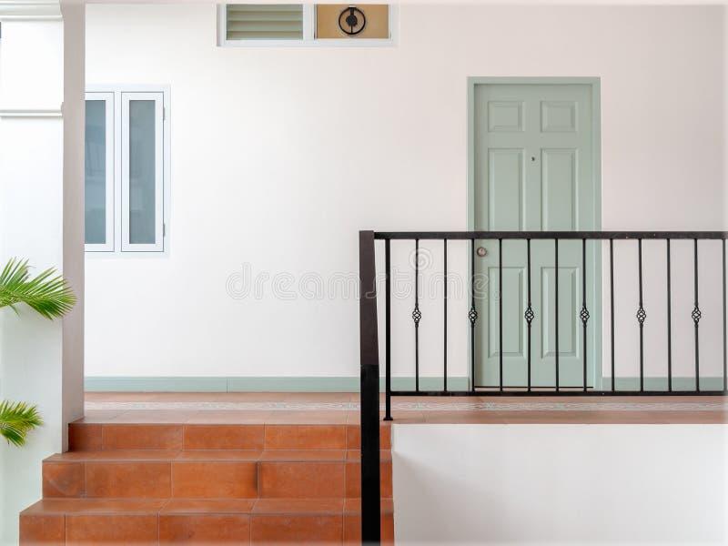 Uitstekende deur royalty-vrije stock foto