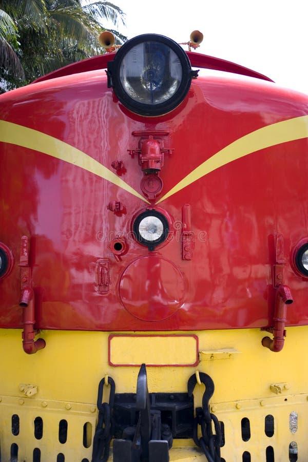 Uitstekende Diesel Trein royalty-vrije stock afbeeldingen