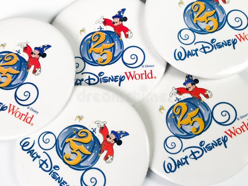 Uitstekende Disney-Spelden stock afbeelding