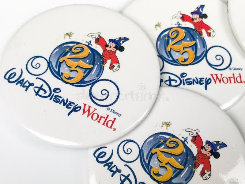 Uitstekende Disney-Spelden stock foto's