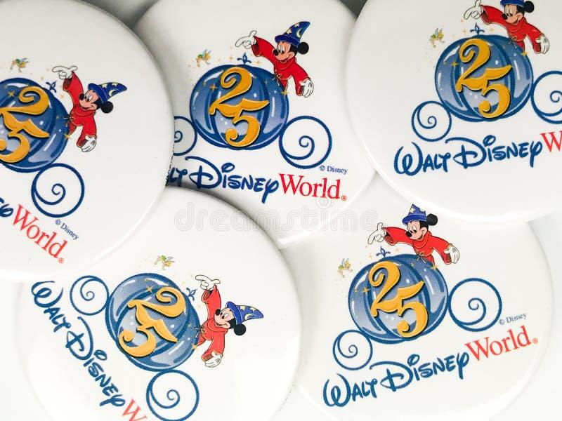 Uitstekende Disney-Spelden stock foto