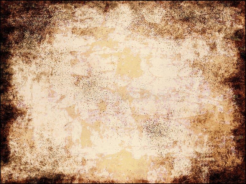 Uitstekende document achtergrond vector illustratie