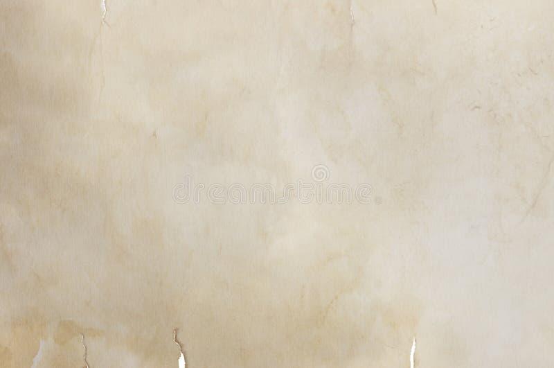 Uitstekende document textuur royalty-vrije stock afbeeldingen
