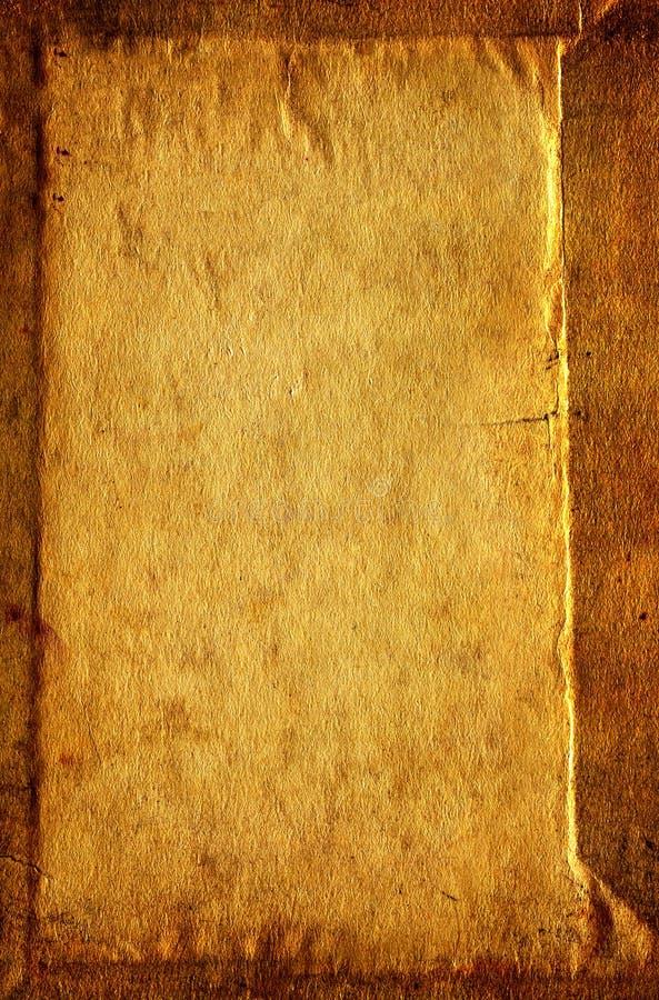 Uitstekende document textuur stock foto