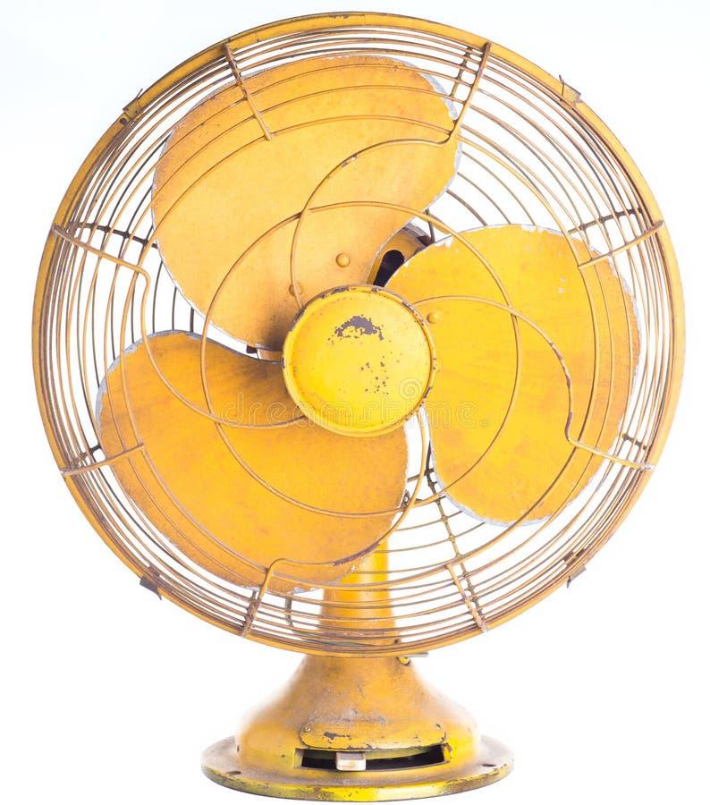 Uitstekende Elektrische geïsoleerde ventilator royalty-vrije stock afbeeldingen