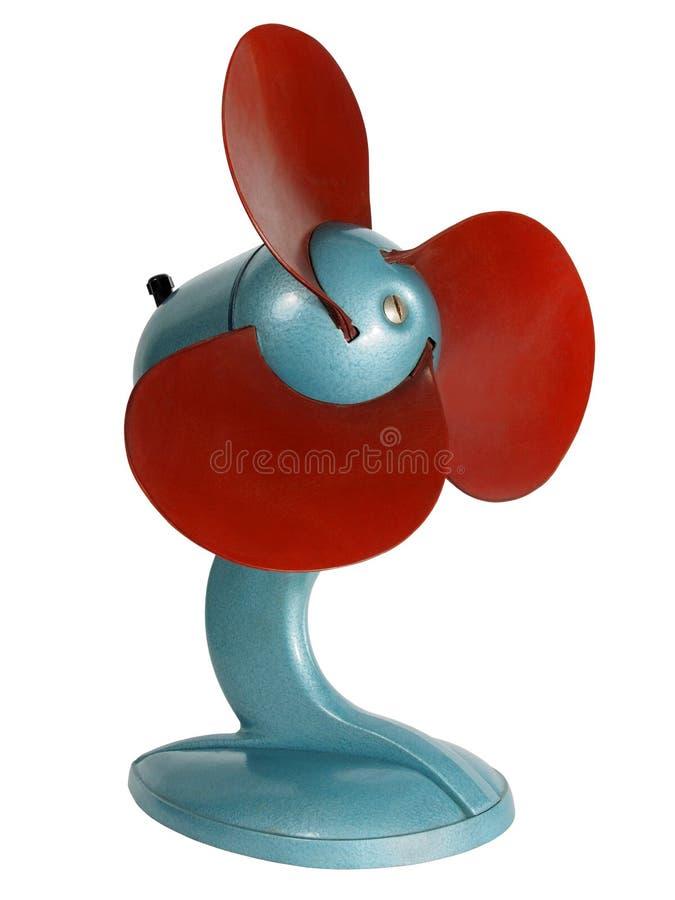 Uitstekende Elektrische Ventilator royalty-vrije stock afbeeldingen
