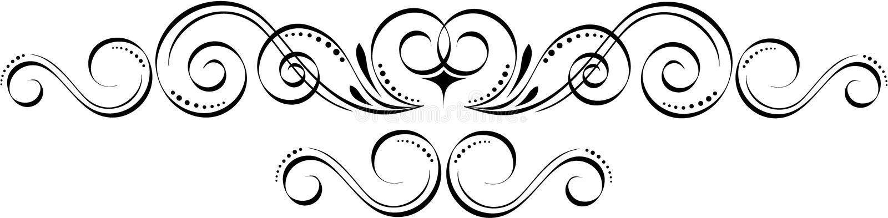 Uitstekende elementen royalty-vrije illustratie