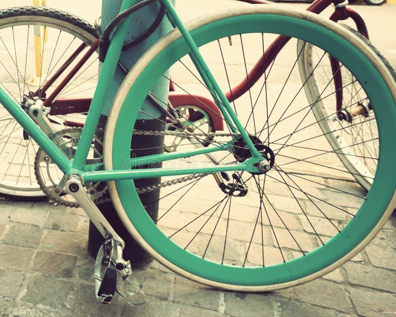 Uitstekende fiets royalty-vrije stock foto's