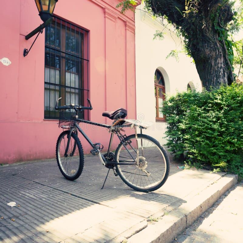 Uitstekende fiets royalty-vrije stock foto