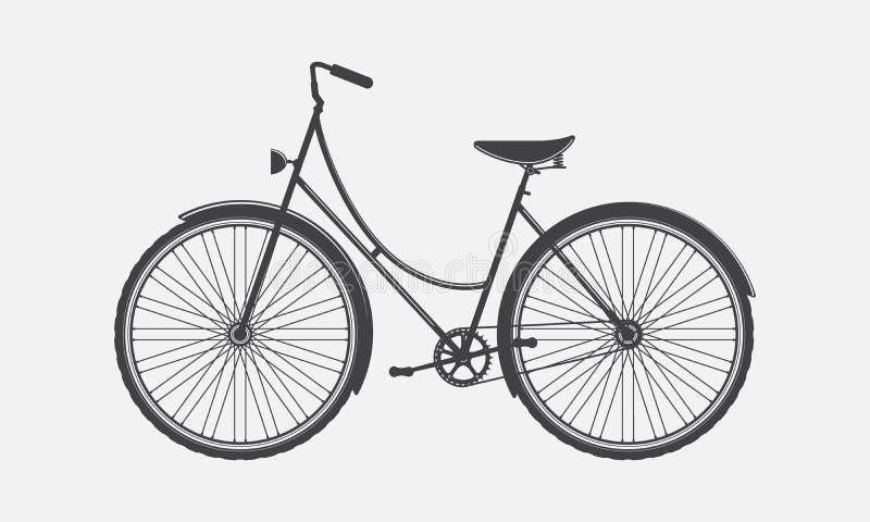 uitstekende fiets royalty-vrije illustratie