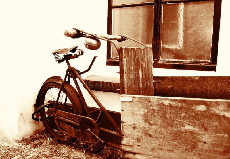 Uitstekende fiets stock foto