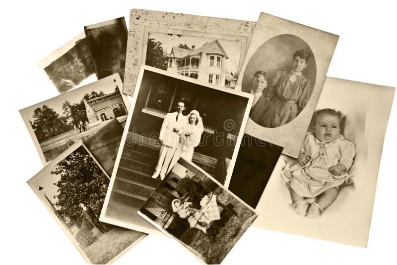 Uitstekende Foto's en Negatieven royalty-vrije stock afbeelding