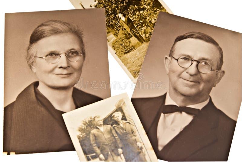 Uitstekende Foto's in Sepia royalty-vrije stock foto's
