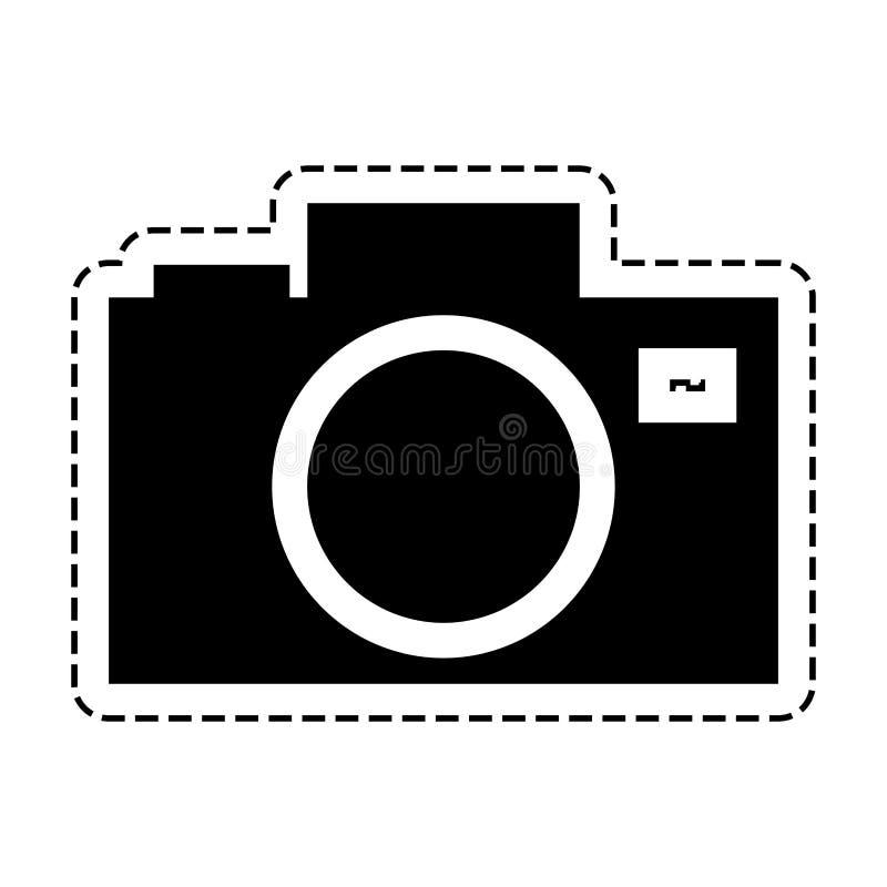 Uitstekende fotografische camera vector illustratie