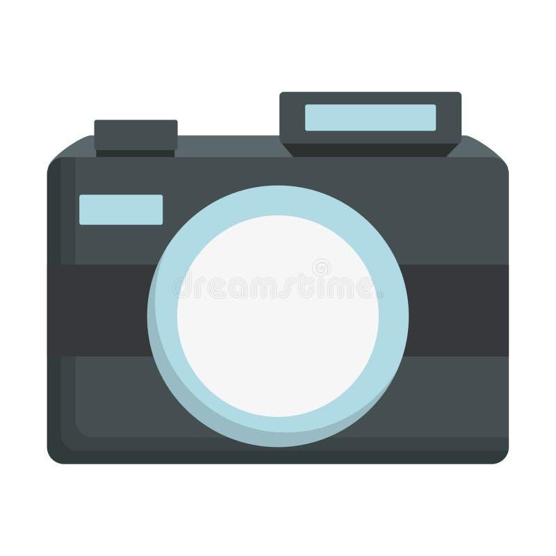 Uitstekende fotografische camera stock illustratie