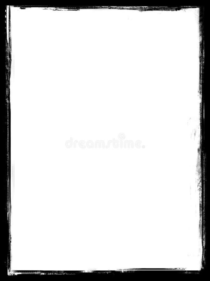 Uitstekende frame grens (1) royalty-vrije illustratie