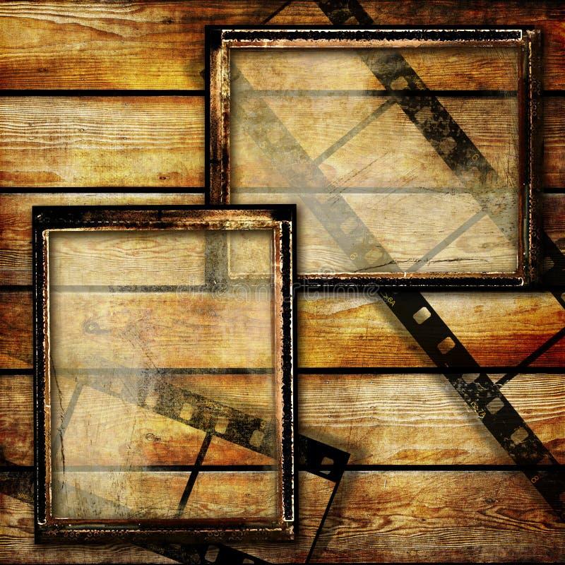 Uitstekende frames vector illustratie
