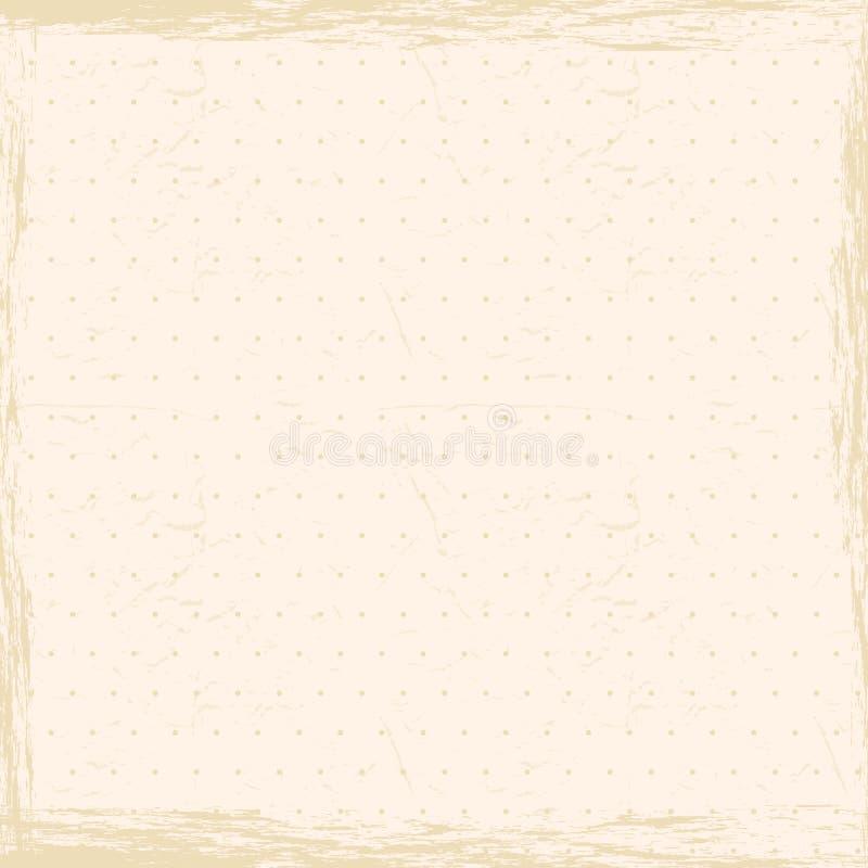 Download Uitstekende Grungeachtergrond. Vector Illustratie - Illustratie bestaande uit aanplakbiljet, kaart: 39108860