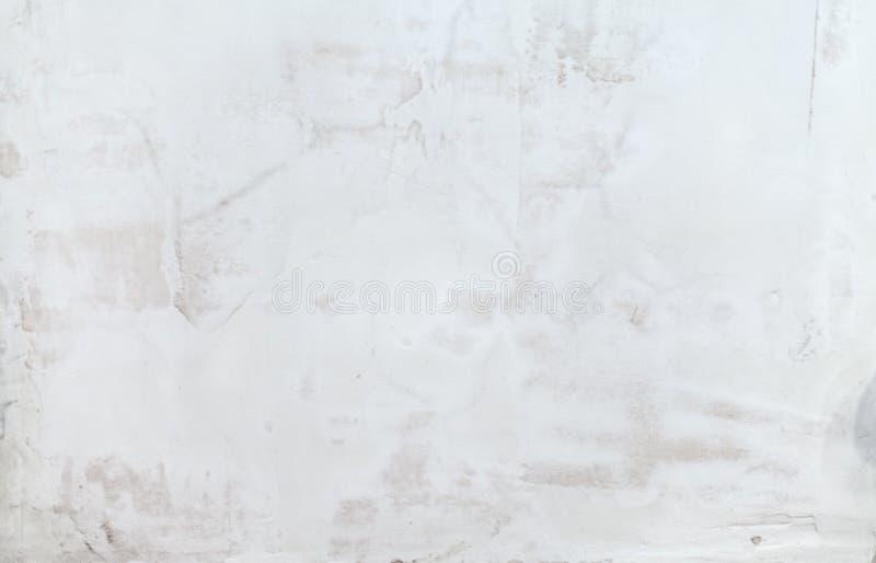 Uitstekende of grungy witte achtergrond van natuurlijke cement of steen oude textuur als retro patroonmuur royalty-vrije stock foto
