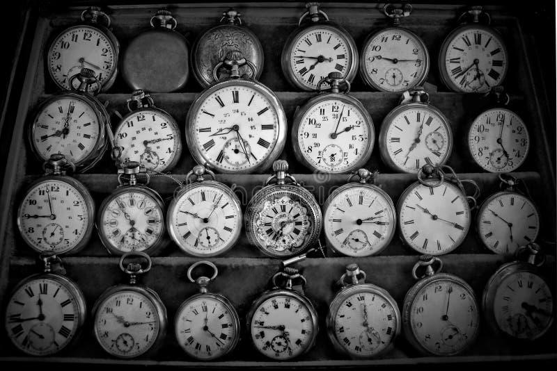 Uitstekende horloges stock fotografie