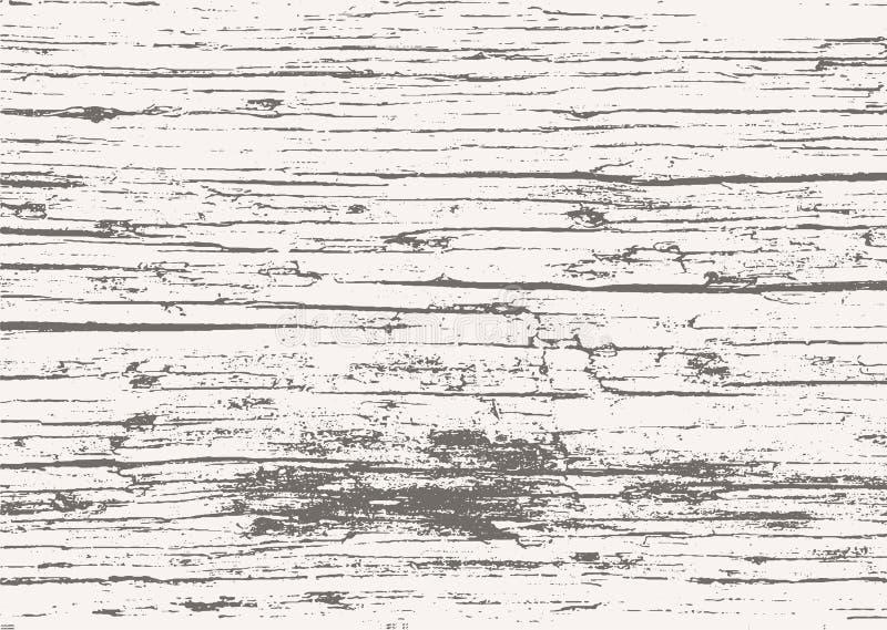 Uitstekende houten achtergrond stock illustratie